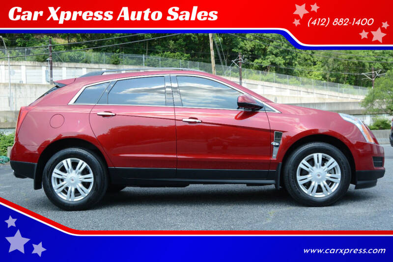 2012 Cadillac SRX for sale at Car Xpress Auto Sales in Pittsburgh PA