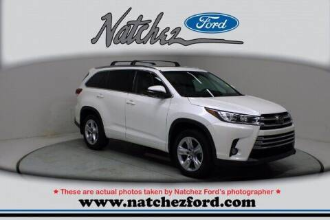 2017 Toyota Highlander for sale at Auto Group South - Natchez Ford Lincoln in Natchez MS