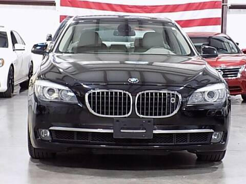 2009 BMW 7 Series for sale at Texas Motor Sport in Houston TX