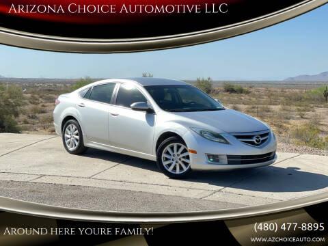 2011 Mazda MAZDA6 for sale at Arizona Choice Automotive LLC in Mesa AZ