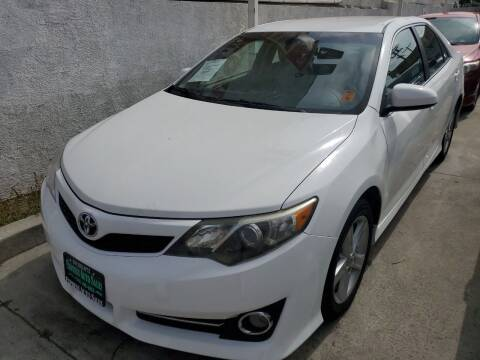 2014 Toyota Camry for sale at Express Auto Sales in Los Angeles CA