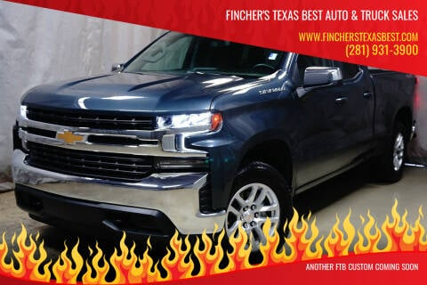 2020 Chevrolet Silverado 1500 for sale at Fincher's Texas Best Auto & Truck Sales in Houston TX