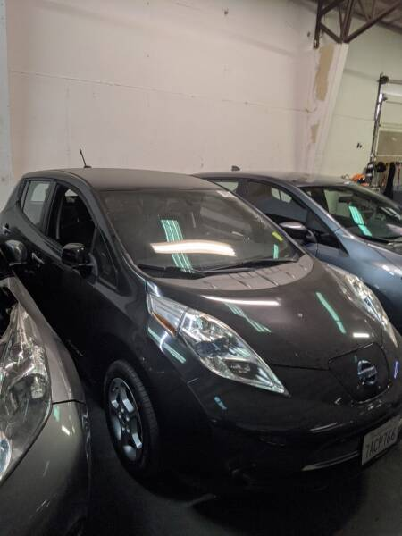 2013 Nissan LEAF for sale at EV RIDES LLC in Portland OR