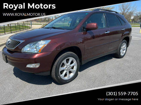 2008 Lexus RX 350 for sale at Royal Motors in Hyattsville MD