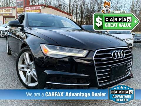 2016 Audi A6 for sale at High Rated Auto Company in Abingdon MD