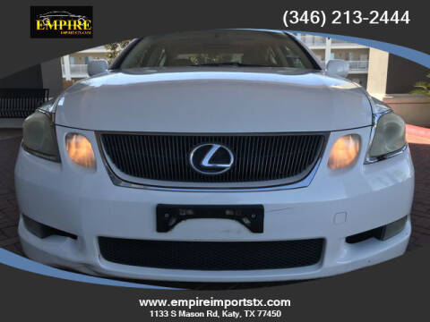 2006 Lexus GS 300 for sale at EMPIREIMPORTSTX.COM in Katy TX