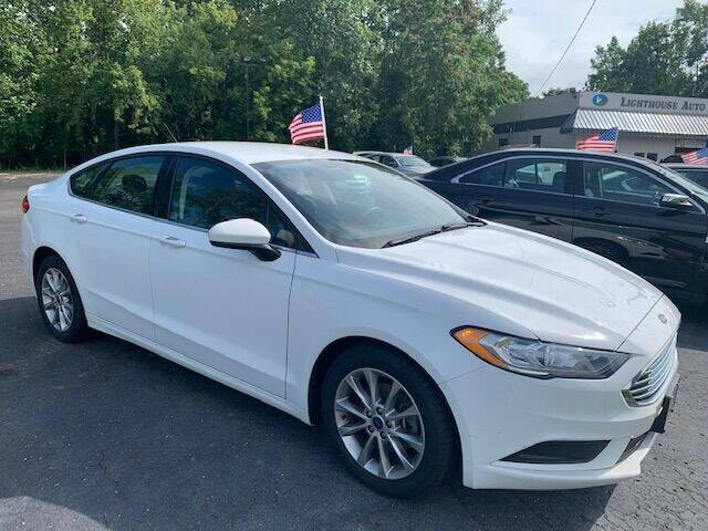 2017 Ford Fusion for sale at Lighthouse Auto Sales in Holland MI