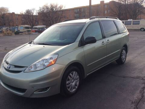 2009 Toyota Sienna for sale at AROUND THE WORLD AUTO SALES in Denver CO
