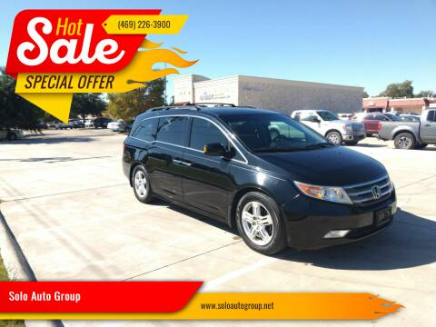 2012 Honda Odyssey for sale at Solo Auto Group in Mckinney TX