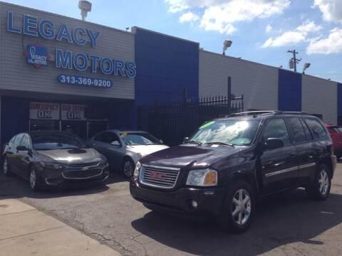 2008 GMC Envoy for sale at Legacy Motors in Detroit MI