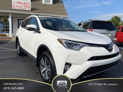 2018 Toyota RAV4 for sale at Ron's Auto Sales (DBA Select Automotive) in Lebanon TN