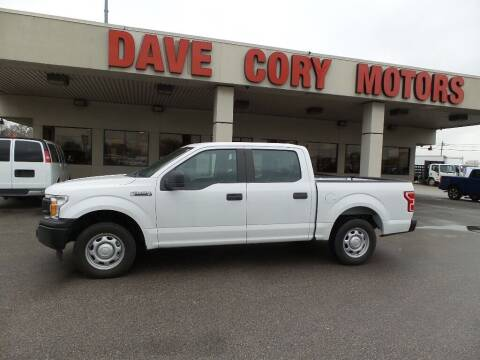 2018 Ford F-150 for sale at DAVE CORY MOTORS in Houston TX