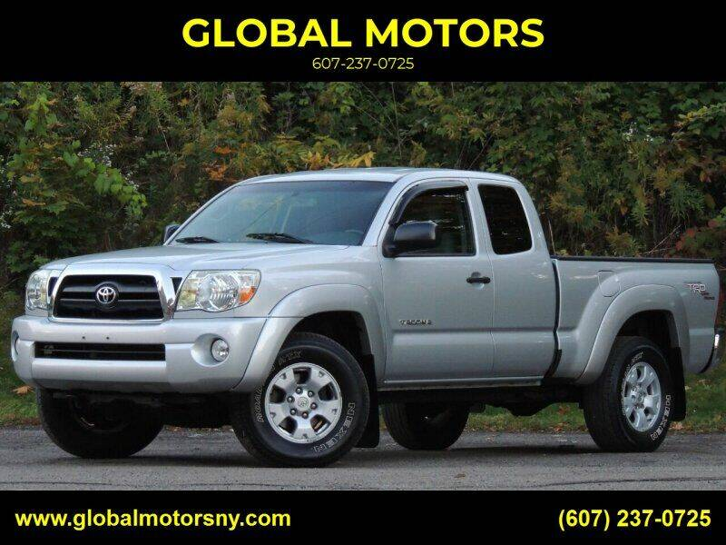 2007 Toyota Tacoma for sale at GLOBAL MOTORS in Binghamton NY