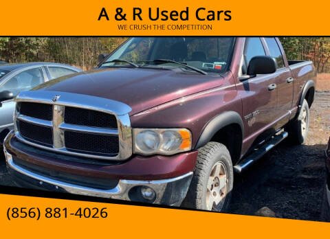 2005 Dodge Ram Pickup 1500 for sale at A & R Used Cars in Clayton NJ