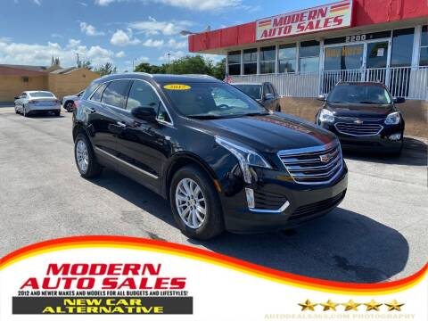 2017 Cadillac XT5 for sale at Modern Auto Sales in Hollywood FL