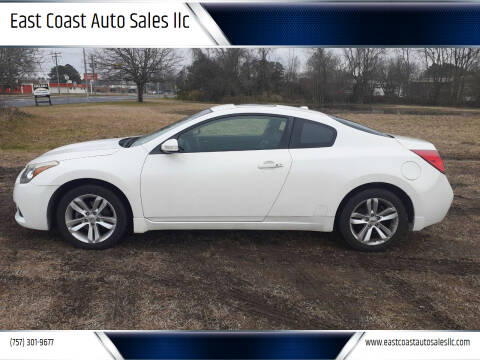 2011 Nissan Altima for sale at East Coast Auto Sales llc in Virginia Beach VA