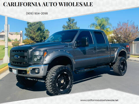 2013 Ford F-250 Super Duty for sale at CARLIFORNIA AUTO WHOLESALE in San Bernardino CA