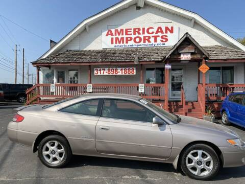1999 Toyota Camry Solara for sale at American Imports INC in Indianapolis IN
