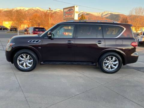 2014 Infiniti QX80 for sale at Haacke Motors in Layton UT