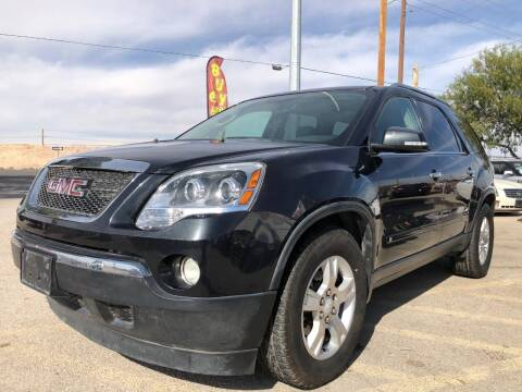 2009 GMC Acadia for sale at Eastside Auto Sales in El Paso TX