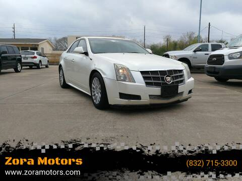 2010 Cadillac CTS for sale at Zora Motors in Houston TX