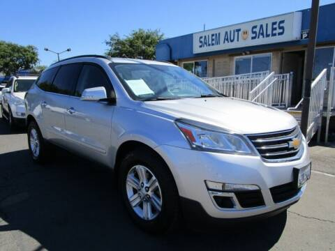 2013 Chevrolet Traverse for sale at Salem Auto Sales in Sacramento CA