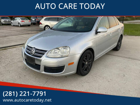 2006 Volkswagen Jetta for sale at AUTO CARE TODAY in Spring TX
