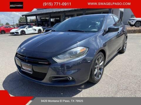 2014 Dodge Dart for sale at SOUTHWEST AUTO GROUP-EL PASO in El Paso TX