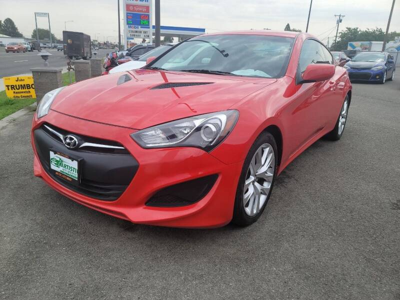 2013 Hyundai Genesis Coupe for sale at Artistic Auto Group, LLC in Kennewick WA