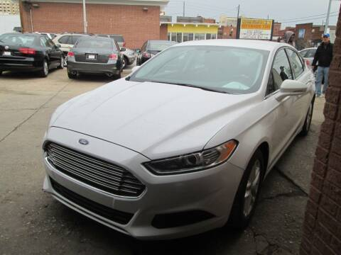 2016 Ford Fusion for sale at Downtown Motors in Macon GA