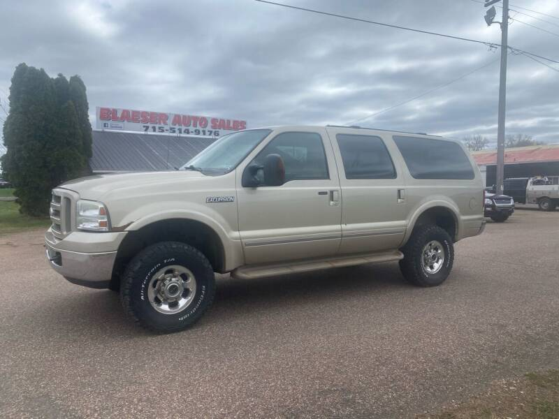2005 Ford Excursion for sale at BLAESER AUTO LLC in Chippewa Falls WI