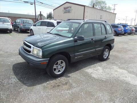 2003 Chevrolet Tracker for sale at Terrys Auto Sales in Somerset PA
