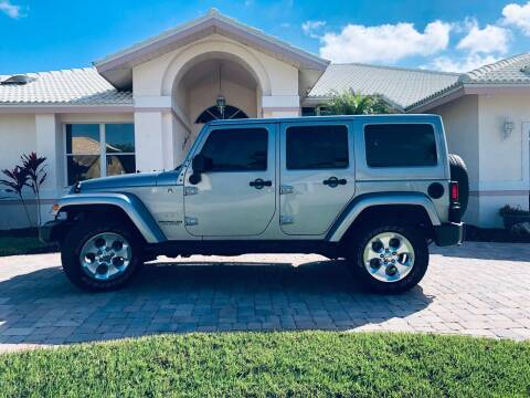 2014 Jeep Wrangler Unlimited for sale at Bcar Inc. in Fort Myers FL