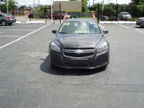 2013 Chevrolet Malibu for sale at Highway Auto Sales in Detroit MI