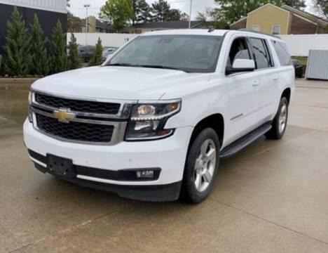 2015 Chevrolet Suburban for sale at Texas Luxury Auto in Houston TX