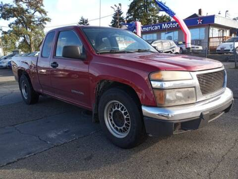 2004 GMC Canyon for sale at All American Motors in Tacoma WA