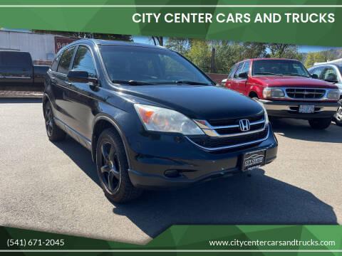 2010 Honda CR-V for sale at City Center Cars and Trucks in Roseburg OR