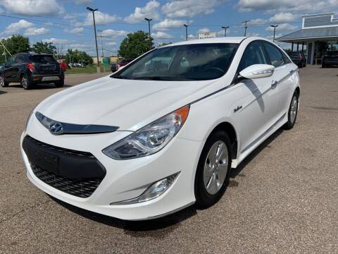2015 Hyundai Sonata Hybrid for sale at Blake Hollenbeck Auto Sales in Greenville MI