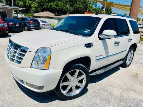 2012 Cadillac Escalade for sale at Lion Auto Finance in Houston TX