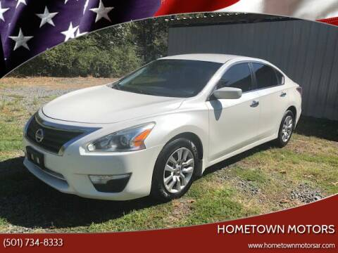 2014 Nissan Altima for sale at Hometown Motors in Maumelle AR