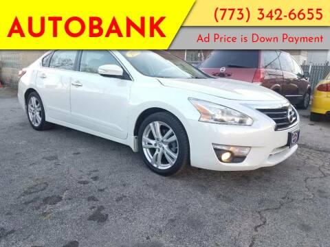 2013 Nissan Altima for sale at AutoBank in Chicago IL