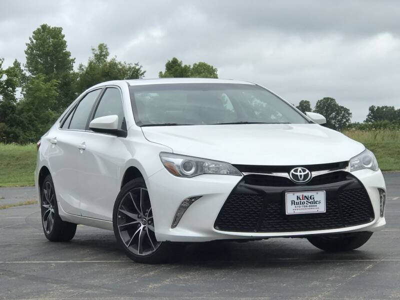 2015 Toyota Camry for sale at KING AUTO SALES, LLC in Farmington MO