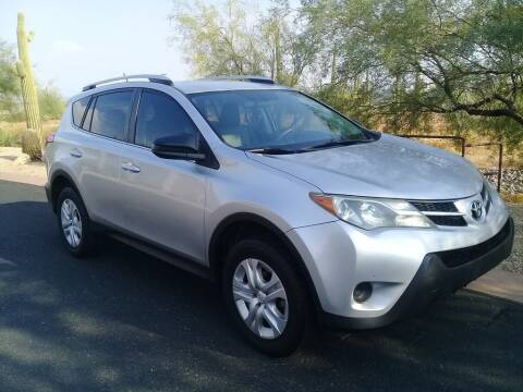 2013 Toyota RAV4 for sale at Dreamline Motors in Coolidge AZ