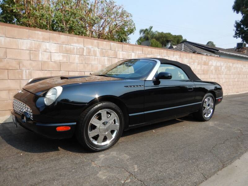 2002 Ford Thunderbird for sale at California Cadillac & Collectibles in Los Angeles CA