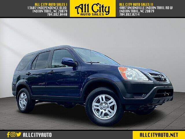 2004 Honda CR-V for sale at All City Auto Sales II in Indian Trail NC