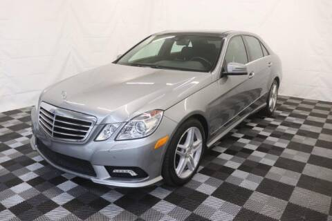 2011 Mercedes-Benz E-Class for sale at AH Ride & Pride Auto Group in Akron OH