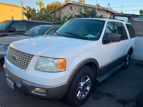 2003 Ford Expedition for sale at North County Auto in Oceanside CA