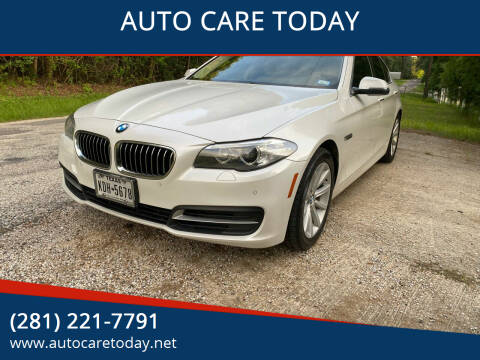 2014 BMW 5 Series for sale at AUTO CARE TODAY in Spring TX