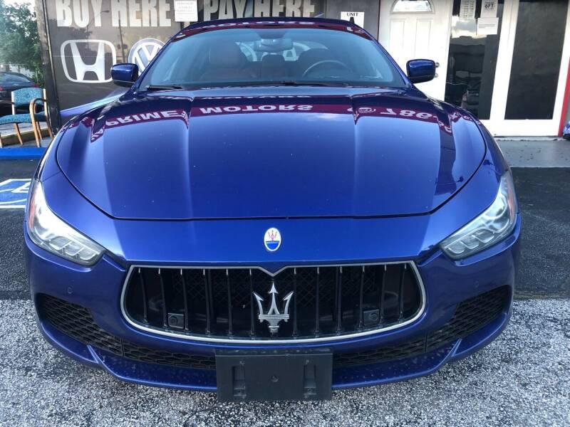 2016 Maserati Ghibli for sale at CAR UZD in Miami FL