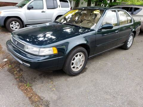 1994 Nissan Maxima for sale at Devaney Auto Sales & Service in East Providence RI